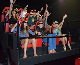7D Cinema - Virtual Reality - Accommodation Resorts